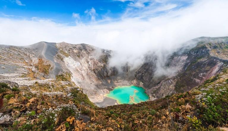 Der Irazu ist der höchste Vulkan von Costa Rica.