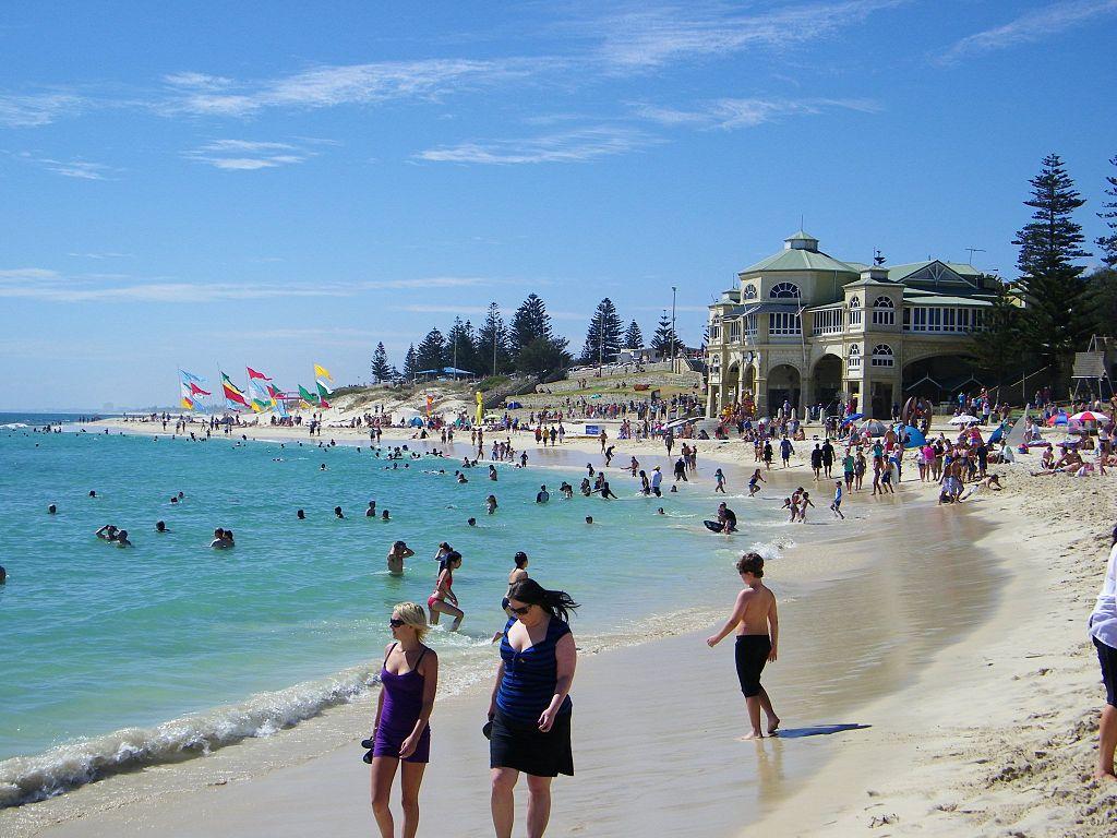 Der Cottesloe Beach in Perth