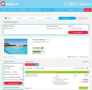Screenshot Deals Hotel Ferieninsel Albarella