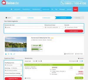Screenshot Deals Österreich Hotel Maltschacher See