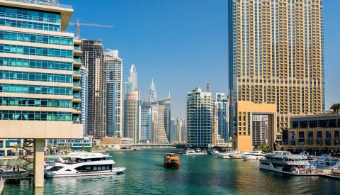 Dubai Hafen