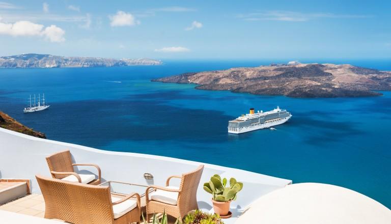 Frühbucher Griechenland Santorini