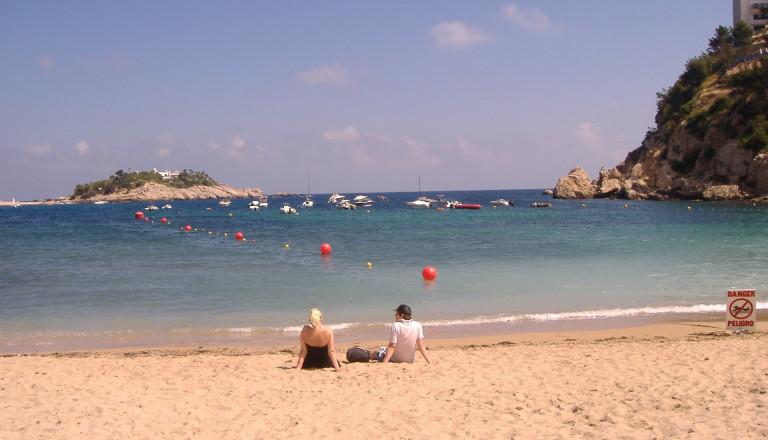 Es braucht nicht viel zum Glück auf Ibiza!