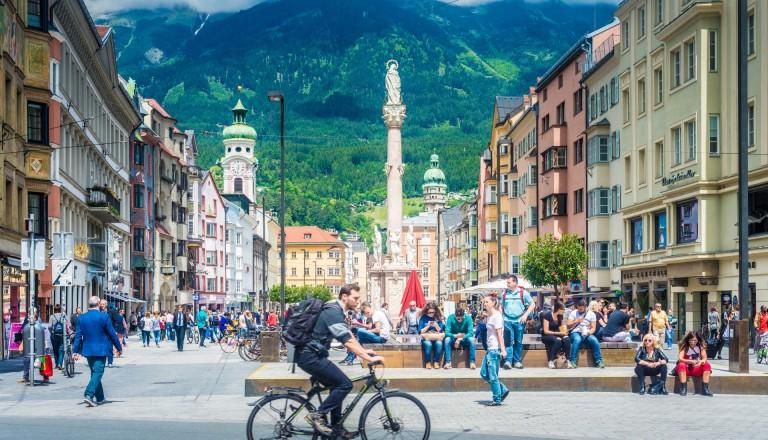 Städtereisen Innsbruck Alpen Tirol