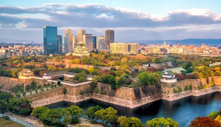 Osaka ist Japans drittgrößte Stadt!
