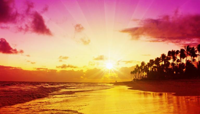 Frühbucher Reisen Urlaub Sonnenaufgang