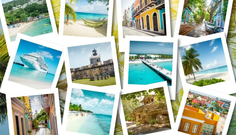 Postkarten Karibik Kreuzfahrten