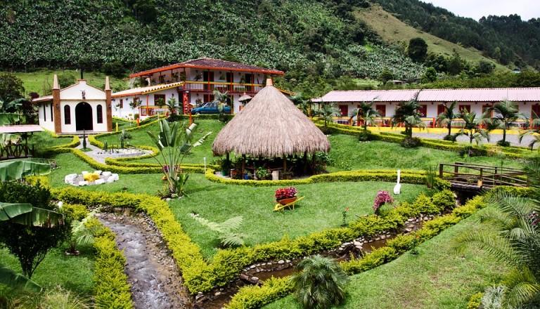 Die Kaffeezone Kolumbiens gehört zum Weltkulturerbe.