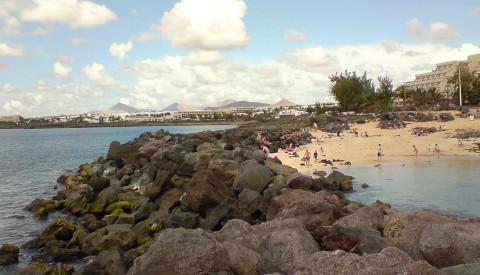 Playa del Jablilo, Costa Teguise, Lanzarote