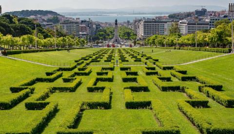 Park in Lissabon