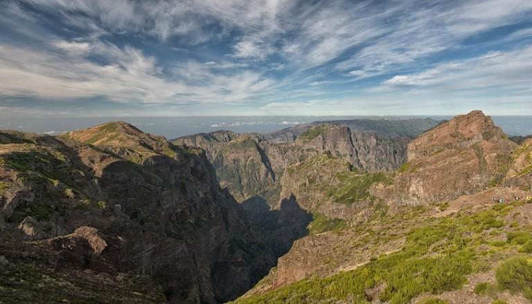 Der Pico do Arieiro ist der meistbesuchte Gipfel auf Madeira.