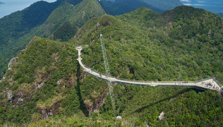 Reisen nach Malaysia Brücke