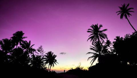 Malediven Himmel