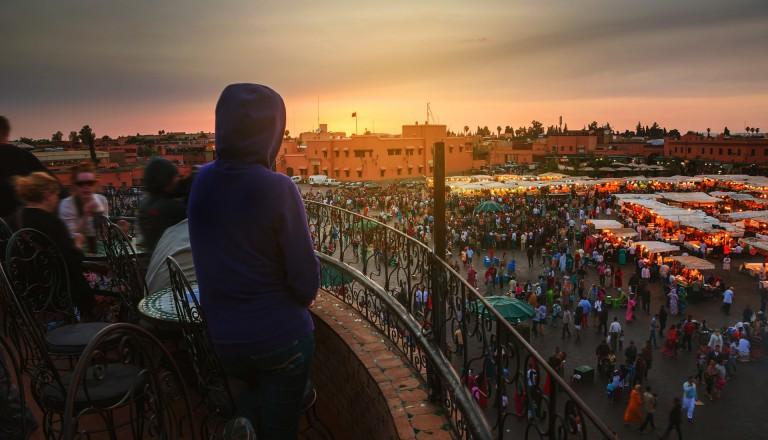 Besondere Veranstaltungen in Marrakesch.