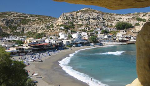 Sie haben die freie Auswahl. Vielleicht ist Matala ihr Lieblingsort auf Kreta.