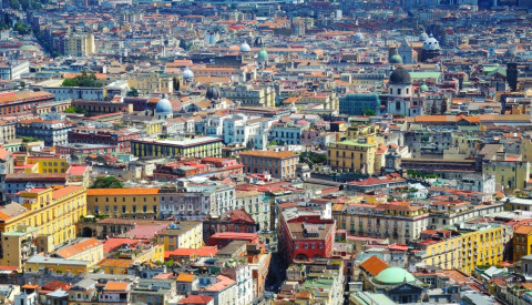 Die Altstadt von Neapel gehört zum UNESO-Weltkulturerbe.
