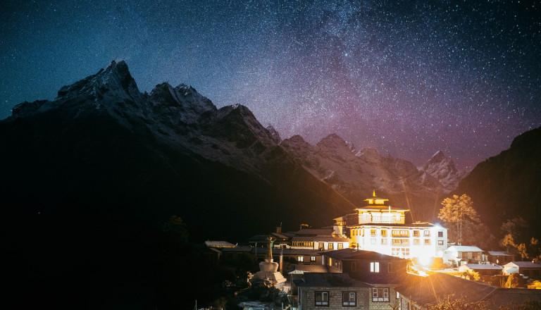 Rundreisen Nepal Kloster Khumjung