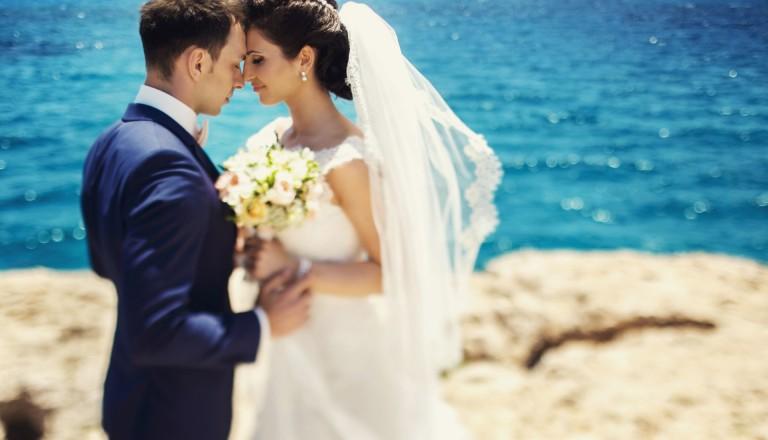 Malediven Hochzeit Glück