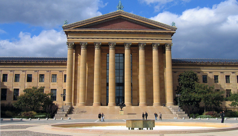 Das Philadelphia Museum of Art