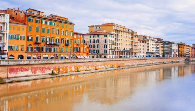 Pisa am Arno Stadtteile