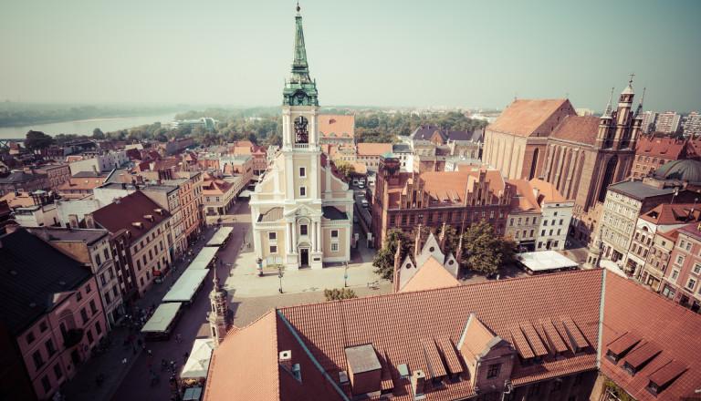 Die Altstadt von Torun in Polen