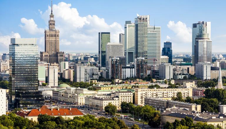 Warschau Polen Städtereisen