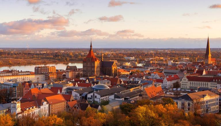 Rostocks charmante Innenstadt Stadtteile