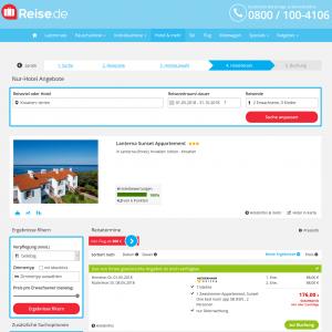 Screenshot Deals Istrien Hotel Lanterna