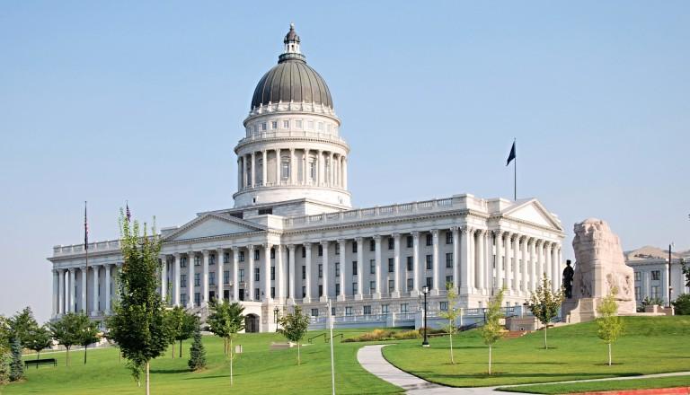 Das Kapitol - Sitz der Regierung Utahs.