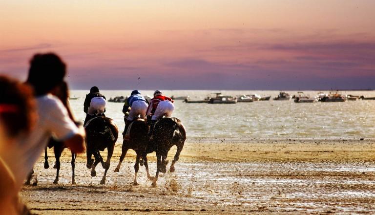 Sanlucar de Barrameda  Pferderennen
