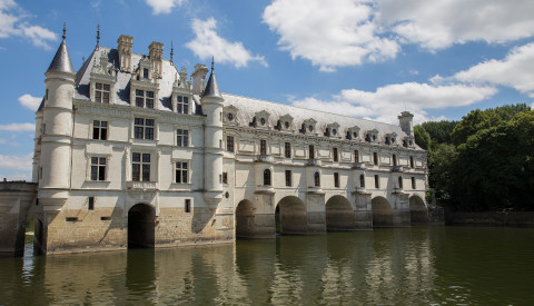 Schloss Chenonceau im Loire-Tal