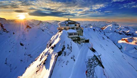 Schweiz - Piz Gloria Schilthorn-