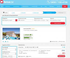 Screenshot Deal Hotel Gran Garbi Mar Lloret de Mar