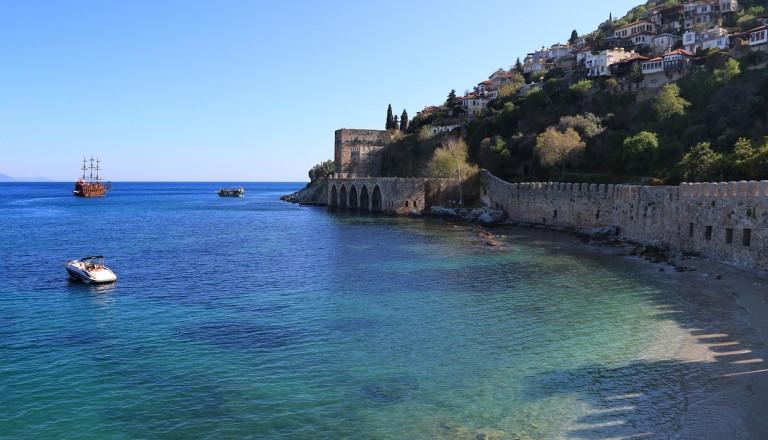 Seldschukische Schiffswert, Alanya, Türkei