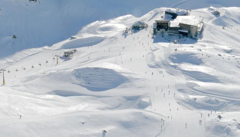 Skifahrer Nebelhorn