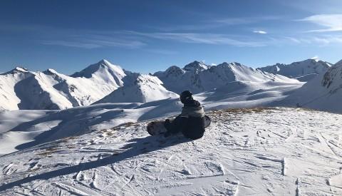 Snowboarden in Ischgl