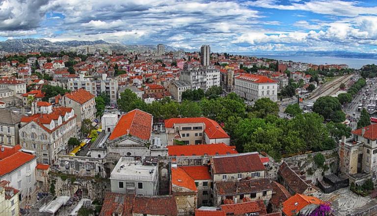 Die schöne Altstadt von Split