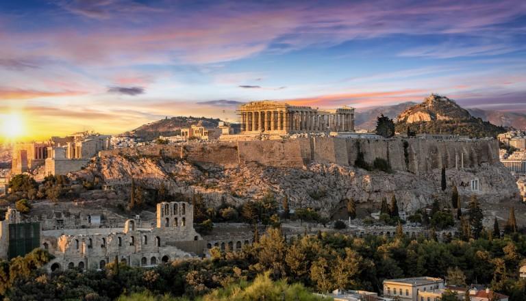 Athen Attika Akropolis