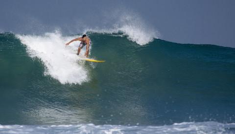 Surfen auf Java Island