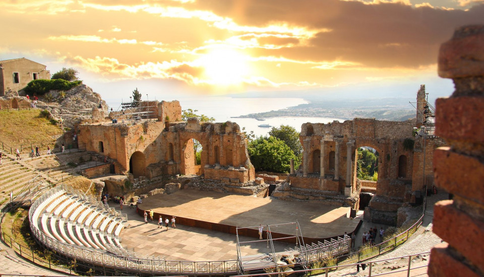 Taormina Theater, Sizilien