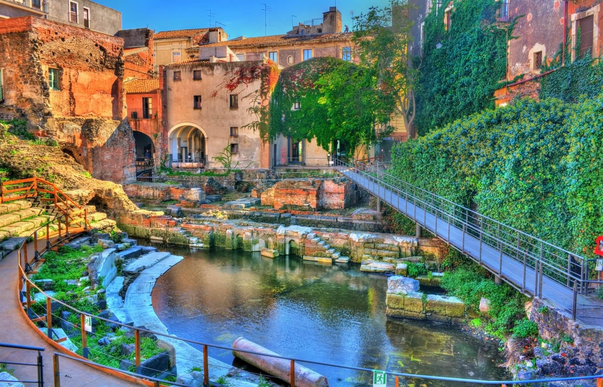 Sizilien-Rundreise-Amphitheater