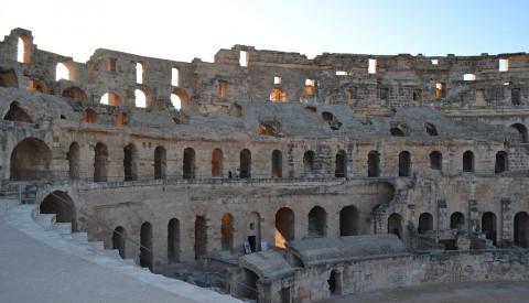 Das Amphitheater von El Djem