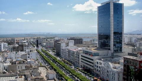 Tunis, die größte Stadt Tunesiens