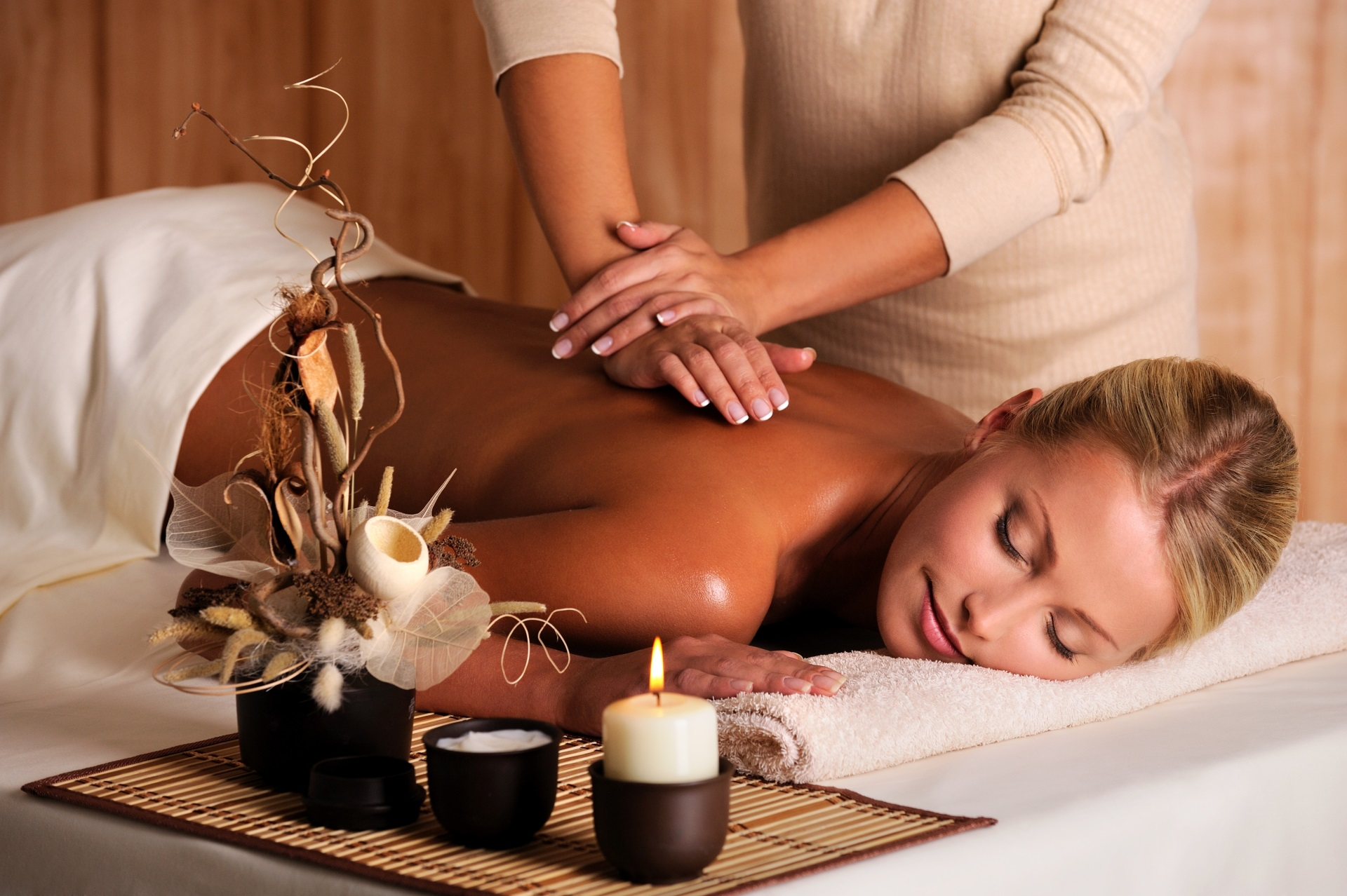Wellness Massage Cluburlaub Spanien