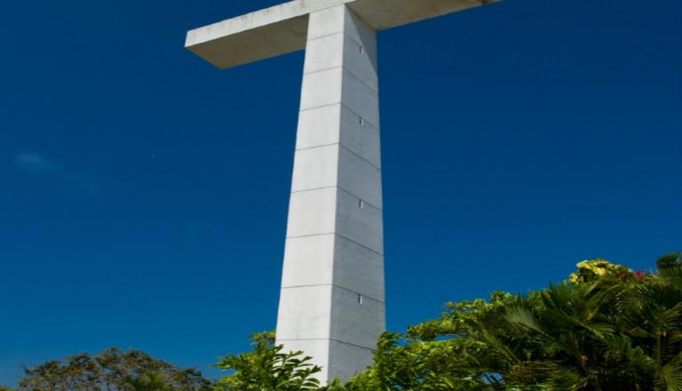 Die Burgkapelle des Friedens in Acapulco