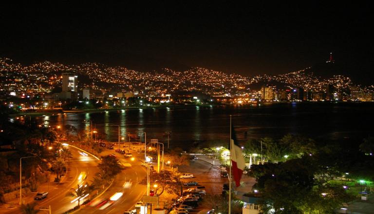 Die Altstadt von Acapulco