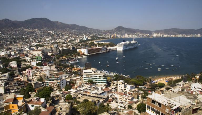 Overlook of Acapulco Städtereisen