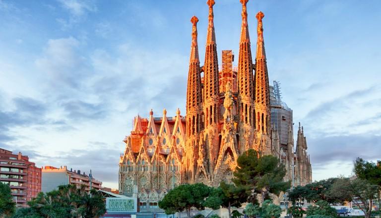Sagrada Familia in Spanien