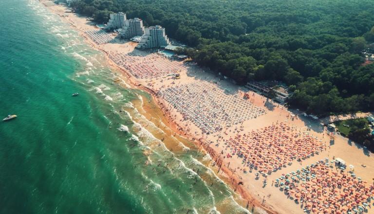 Albena Strand Bulgarien