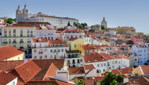 In Alfama zeigt sich Lissabon besonders malerisch.
